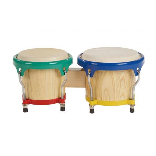"""GOLDON - bonga 6,5"""" a 7,5"""" - přírodní, barevné ráfky (38030)"""