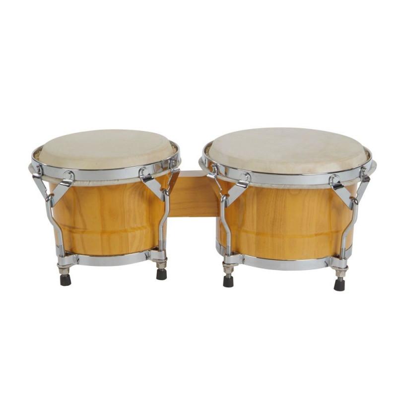 """GOLDON - bonga profesionální 7"""" a 8,5"""" - barva přírodní (38050)"""