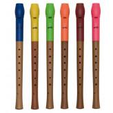 GOLDON - sopránová zobcová flétna různé barvy - typ německý (dod. v krabici) (42010)