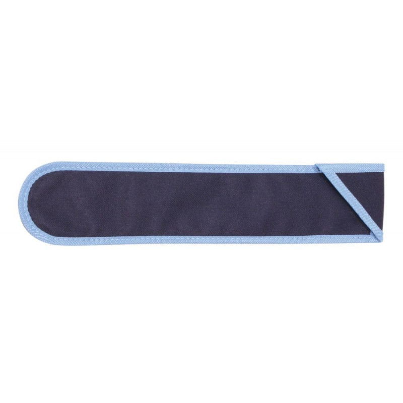 GOLDON - bavlněný obal na zobcovou flétnu - modrý (44008)