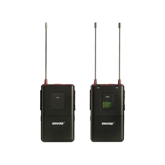 SHURE FP15 - bodypack systém pro klopové, náhlavní a nástrojové mikrofony