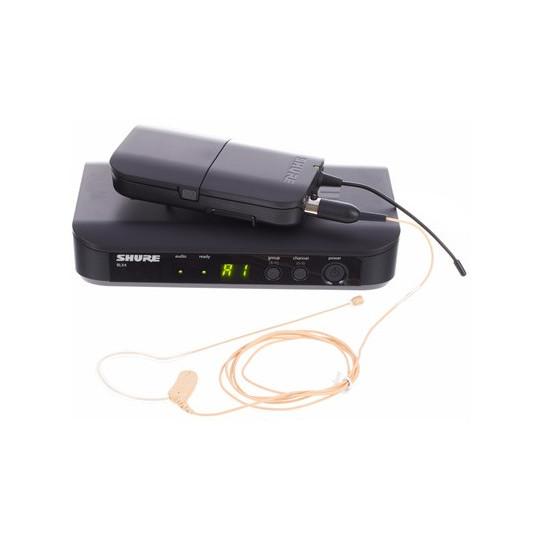 SHURE BLX14E/MX53 - SMW systém, BLX4E, BLX1 + náhlavní mikr. MX153