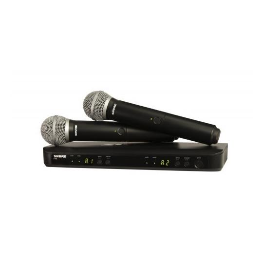 SHURE BLX288E/SM58 - SMW dual, BLX88E, 2x SM58
