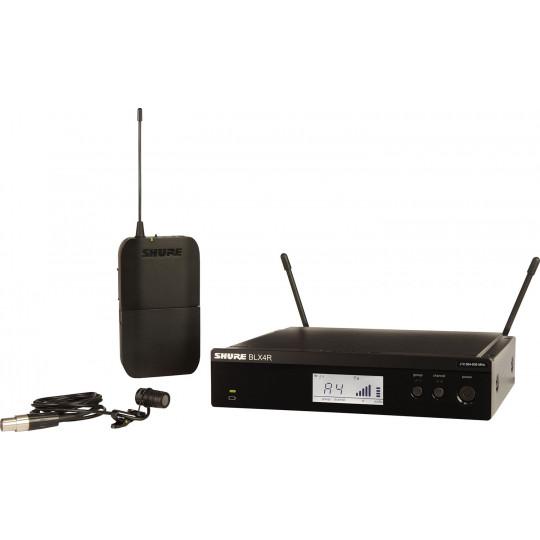 SHURE BLX14RE/W85 - SMW systém, BLX4R, BLX1 + WL185, rack