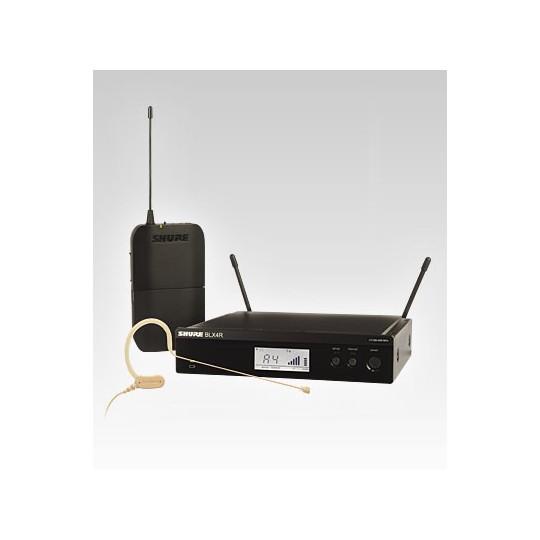 SHURE BLX14RE/MX53 - SMW systém, BLX4R, BLX1 + MX153, rack