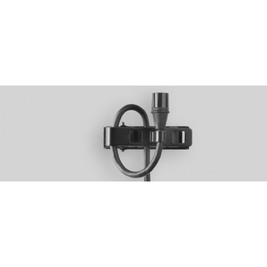 SHURE MX150B/O-TQG - miniaturní klopový mic, kulová ch., mini-XLR, černý