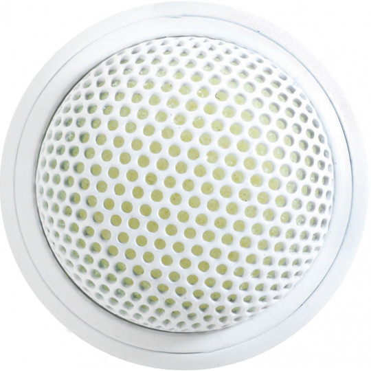SHURE MX395W/O - boundary mikrofon, kulová charakteristika (bílá)