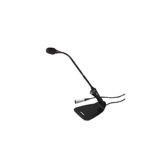 SHURE CVG12S-B/C - mikrofon husí krk, kardioda, switch, černý, 30,5cm