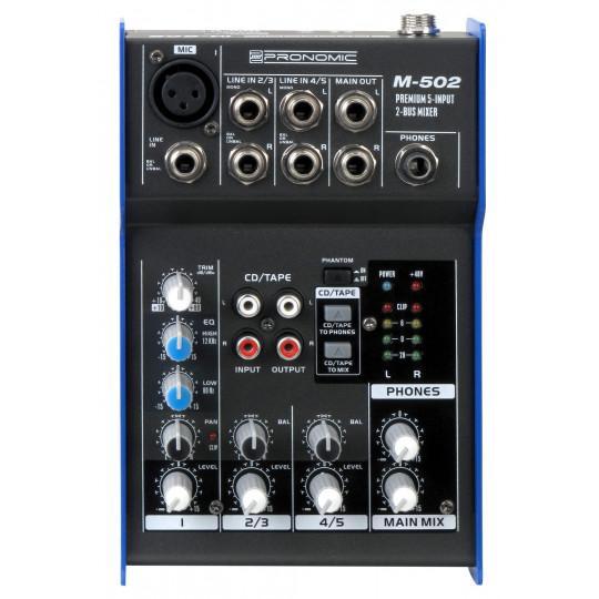 Pronomic M-502 - mixážní pult