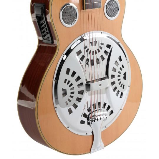 C. Cantabile RS-1 EQ Resofonická kytara se snímačem