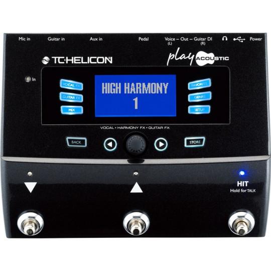 TC HELICON Play Acoustic - vokální procesor pro použití s akustickou kytarou
