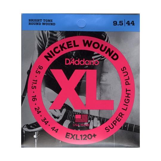 D'Addario EXL120+ - struny pro elektrickou kytaru