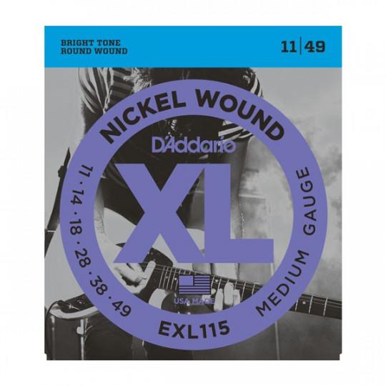D'Addario EXL115 - struny pro elektrickou kytaru