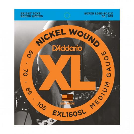 D'Addario EXL160SL - struny pro basovou kytaru