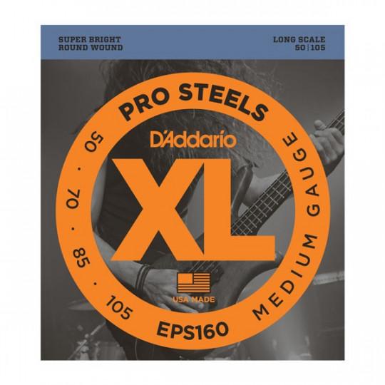 D'Addario EPS160 - struny pro baskytaru - dlouhá menzura (34palců)