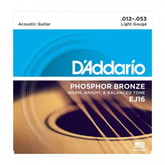 D'Addario EJ16 - struny pro akustickou kytaru