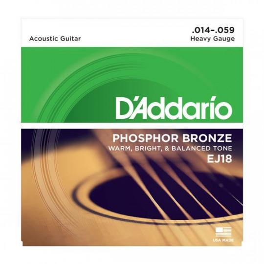D'Addario EJ18 - struny pro akustickou kytaru