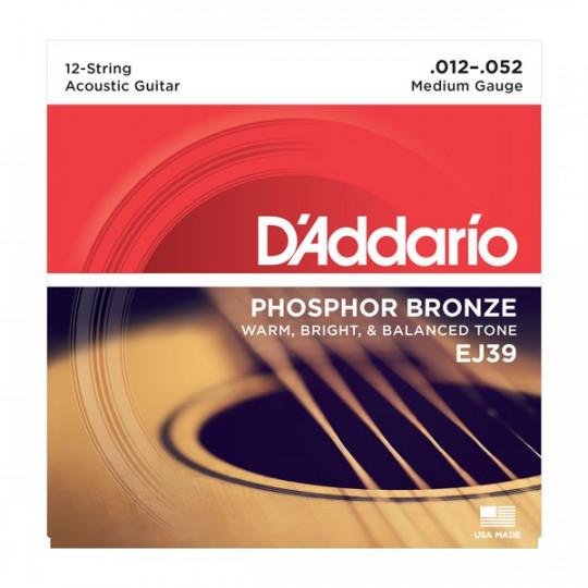 D'Addario EJ39 - struny pro akustickou kytaru