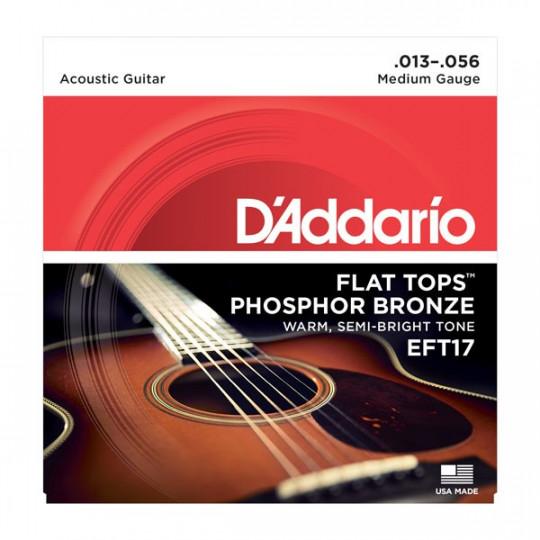 D'Addario EFT17 - struny pro akustickou kytaru