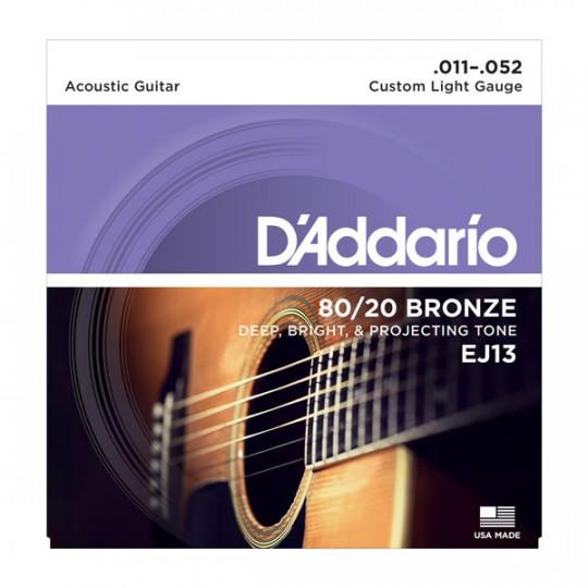 D'Addario EJ13 - struny pro akustickou kytaru