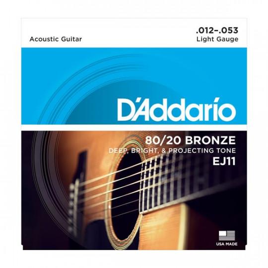 D'Addario EJ11 - struny pro akustickou kytaru