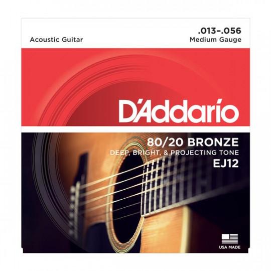 D'Addario EJ12 - struny pro akustickou kytaru