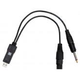 PROLINE Kabel USB-jack/XLR