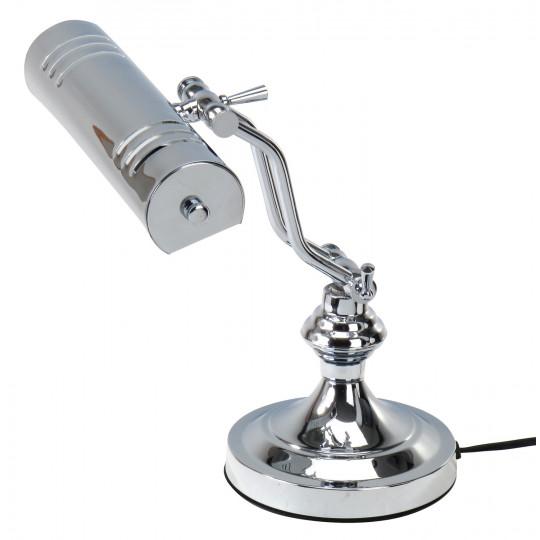 PROLINE Klavírní lampička stříbrná
