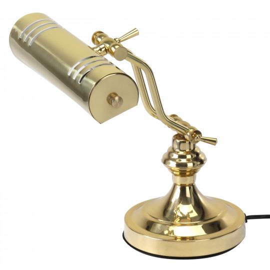 PROLINE Klavírní lampička zlatá