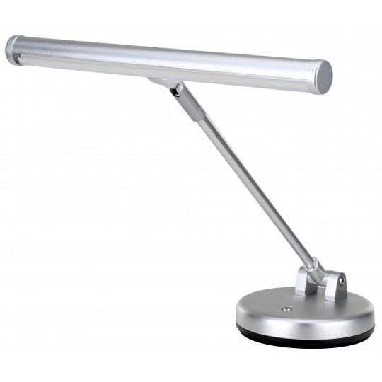 PROLINE Klavírní LED lampička deluxe stříbro mat