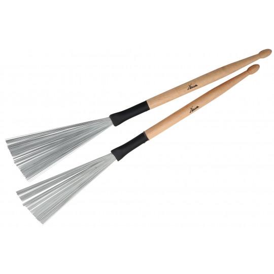 PROLINE Metličky s dřevěnou rukojetí XL
