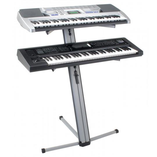 PROLINE Stojan pro klávesy PRO - stříbrný
