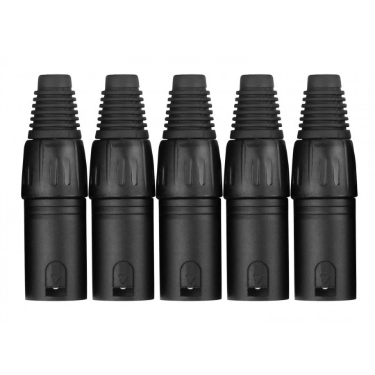 PROLINE XLR male konektor - set 5ks