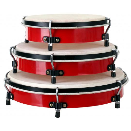PROLINE Ruční bubny set + obal