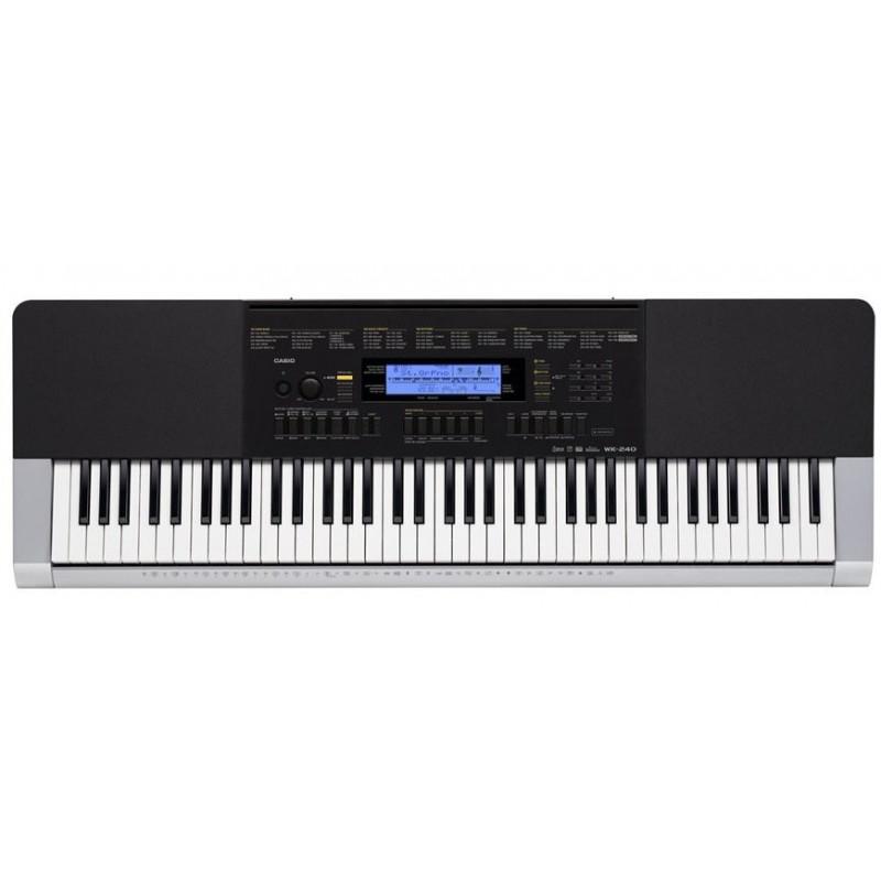 CASIO WK 240 - klávesy s dynamikou
