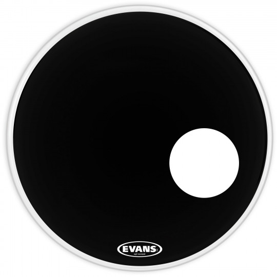 "EVANS 24"" EQ3 RES BLK"