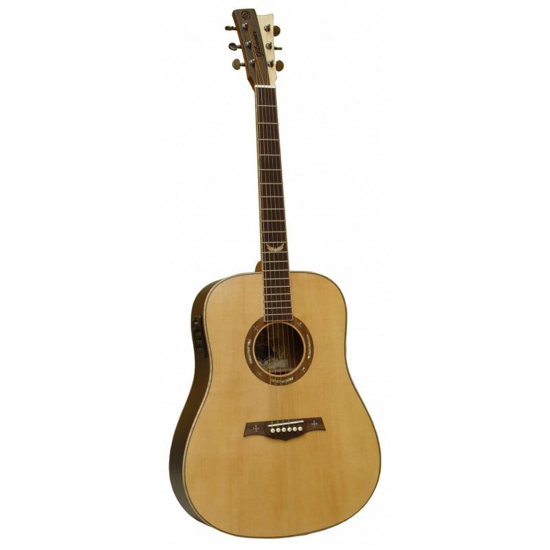 Gilmour Velvet EQ - elektroakustická kytara, masiv smrk