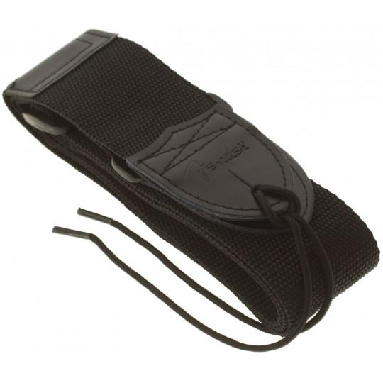 FENDER Black Polyester Strap