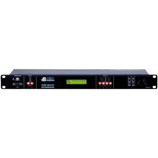dB TECHNOLOGIES DSX 2040 - digitální PA procesor