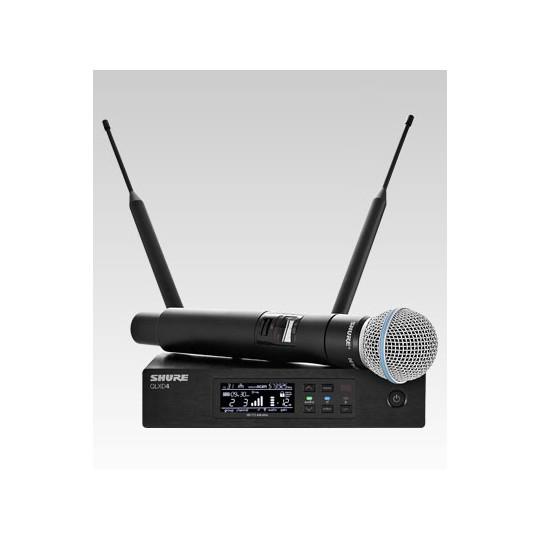 SHURE QLXD24E/B58 - QLX-D přijímač s ručním mikrofonem BETA58A