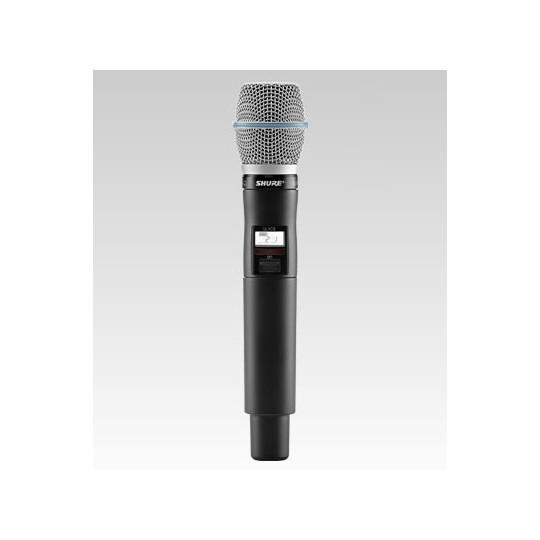 SHURE QLXD24E/B87A - QLX-D přijímač s ručním mikrofonem BETA87A