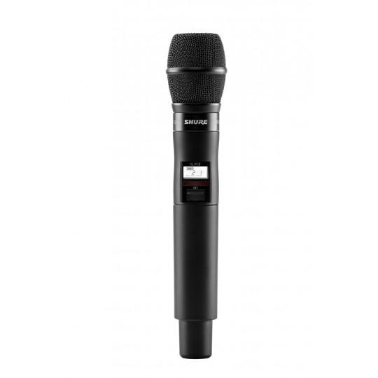 SHURE QLXD24E/KSM9 - QLX-D přijímač s ručním mikrofonem KSM9