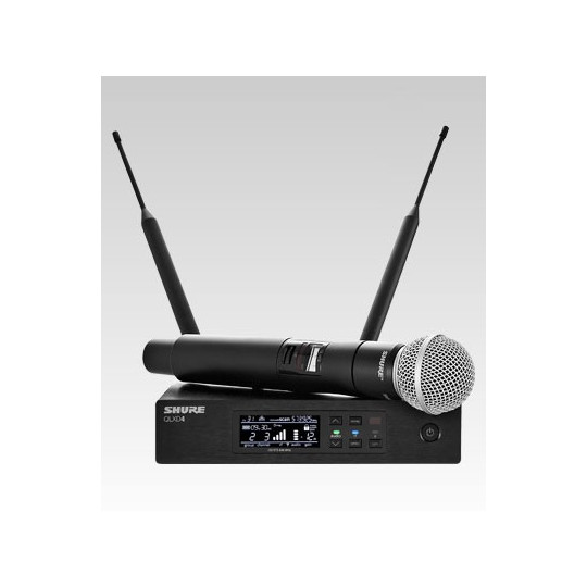 SHURE QLXD24E/SM58 - QLX-D přijímač s ručním mikrofonem SM58