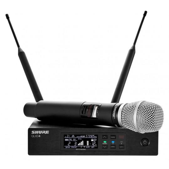 SHURE QLXD24E/SM86 - QLX-D přijímač s ručním mikrofonem SM86