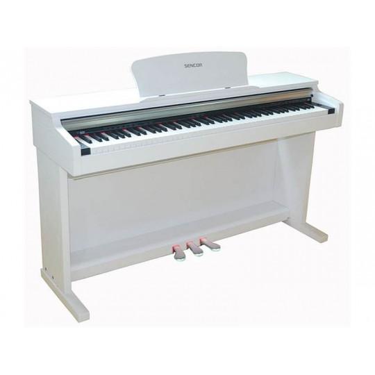 SENCOR SDP-100 WH - digitální piano - barva bílá