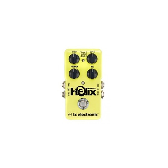 TC ELECTRONIC Helix Phaser, True bypass Phaser pedal, Toneprint