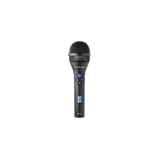 TC ELECTRONIC MP-76, dynamický mikrofon, superkardioida, přepínač efektů
