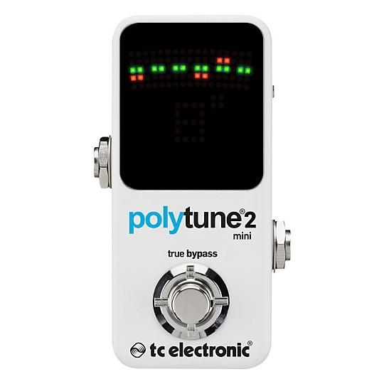 TC ELECTRONIC PolyTune 2 MINI - polyfonní chromatická ladička