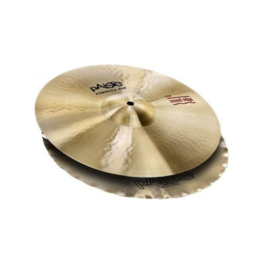 PAISTE 602 SOUND EDGE HI-HAT 36/14""