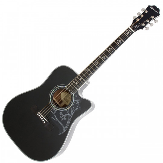Epiphone Dave Navarro Signature Acoustic/Electric EBONY